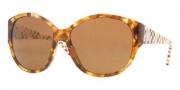 Versace VE4208 Sunglasses Sunglasses - 928/73 Light Havana / Brown