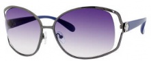 Marc by Marc Jacobs MMJ 162/S Sunglasses Sunglasses - OY8l Dark Ruthenium Blue (08 Dark Blue Gradient Lens)