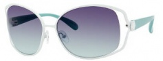 Marc by Marc Jacobs MMJ 162/S Sunglasses Sunglasses - OY8M Palladium Aqua (5M Gray Gradient Aqua Lens)