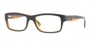 Versace VE3145 Eyeglasses Eyeglasses - 138 Black Transparent Orange