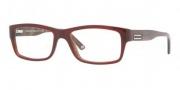 Versace VE3145 Eyeglasses Eyeglasses - 606 Red Brown Horn