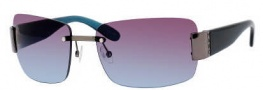 Marc by Marc Jacobs MMJ 167/S Sunglasses Sunglasses - OZ7V Dark Ruthenium Teal (98 Brown Teal Lens)