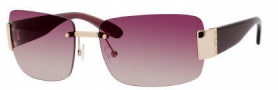 Marc by Marc Jacobs MMJ 167/S Sunglasses Sunglasses - OZ6Q Gold Burgundy (PB Pink Gradient Lens)