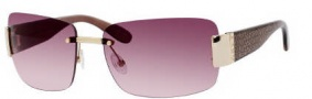 Marc by Marc Jacobs MMJ 167/S Sunglasses Sunglasses - OZ2S Gold Rose (JV Brown Pink Shaded Lens)