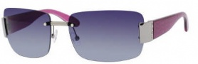 Marc by Marc Jacobs MMJ 167/S Sunglasses Sunglasses - OZ4V Ruthenium Fuchsia (BG Blue Gradient Lens)
