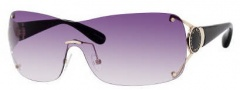 Marc by Marc Jacobs MMJ 169/S Sunglasses Sunglasses - OQNE Light Gold Black (9C Dark Gray Gradient Lens)