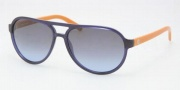 Tory Burch TY9009 Sunglasses Sunglasses - 992/72 Navy Orange