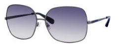 Marc by Marc Jacobs MMJ 183/S Sunglasses Sunglasses - 0KJ1 Dark Ruthenium (08 Dark Blue Gradient Lens)
