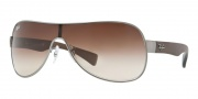 Ray-Ban RB3471 Sunglasses Sunglasses - 029/13 Gunmetal Matte / Brown Gradient