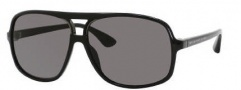 Marc by Marc Jacobs MMJ 212/S Sunglasses Sunglasses - 0D28 Shiny Black (R6 Gray Lens)
