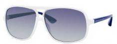 Marc by Marc Jacobs MMJ 212/S Sunglasses Sunglasses - 0YO6 White Blue (G5 Azure Mirror Flash Lens)
