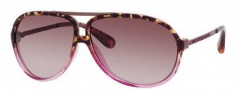 Marc by Marc Jacobs MMJ 220/S Sunglasses Sunglasses - OYRF Havana Fuchsia / Brown (S2 Brown Gradient Lens)