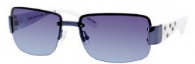 Marc by Marc Jacobs MMJ 224/S Sunglasses Sunglasses - OYRX Blue White (38 Gray Azure Lens)