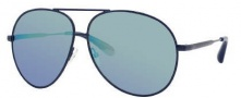 Marc by Marc Jacobs MMJ 226/S Sunglasses Sunglasses - 0002 Transparent Shiny Blue (SK Blue Mirror Lens)