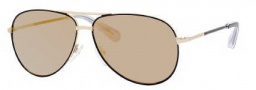 Marc by Marc Jacobs MMJ 227/S Sunglasses Sunglasses - 0F0G Black Gold (SQ Multilayer Gold Lens)