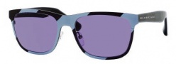 Marc by Marc Jacobs MMJ 229/S Sunglasses Sunglasses - OR49 Matte Blue (72 Gray Lens)