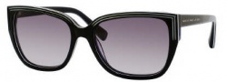 Marc by Marc Jacobs MMJ 238/S Sunglasses Sunglasses - 03Z5 Black White (EU Gray Gradient Lens)