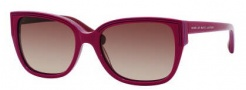 Marc by Marc Jacobs MMJ 238/S Sunglasses Sunglasses - 0CAl Cyclamen Pink Blue (D8 Brown Gradient Lens)