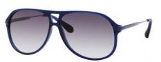 Marc by Marc Jacobs MMJ 239/S Sunglasses Sunglasses - 0ASQ Matte Blue Ruthenium (JJ Gray Gradient Lens)