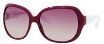 Marc by Marc Jacobs MMJ 240/S Sunglasses Sunglasses - OWEG Burgundy / White (PB Pink Gradient Lens)