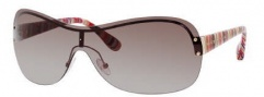 Marc by Marc Jacobs MMJ 241/S Sunglasses Sunglasses - 0W9Y Red Gold / Mu Light Striped (JD Brown Gradient Lens)