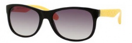 Marc by Marc Jacobs MMJ 246/S Sunglasses Sunglasses - 0WEC Black Yellow (JS Gray Gradient Lens)