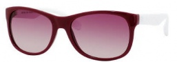 Marc by Marc Jacobs MMJ 246/S Sunglasses Sunglasses - 0WEG Burgundy White (PB Pink Gradient Lens)