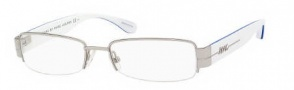 Marc by Marc Jacobs MMJ 434/U Eyeglasses Eyeglasses - OF81 Palladium White Blue