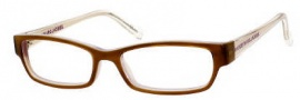 Marc by Marc Jacobs MMJ 453 Eyeglasses Eyeglasses - 0P0J Havana Nut Light Gold