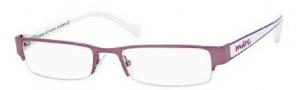 Marc by Marc Jacobs MMJ 459 Eyeglasses Eyeglasses - 0YAC Pink Burgundy / White