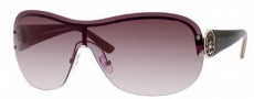 Juicy Couture Grand/S Sunglasses Sunglasses - 03YG Shiny Light Gold (YY Brown Gradient Lens)