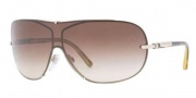 Burberry BE3052 Sunglasses Sunglasses - 100213 Burberry Gold / Brown Gradient