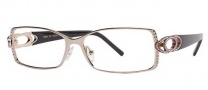 Caviar 1803 Eyeglasses Eyeglasses - (16) Brown w/ Clear Crystal Stones