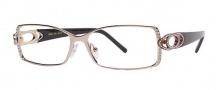Caviar 1803 Eyeglasses Eyeglasses - (21) Gold w/ Clear Crystal Stones