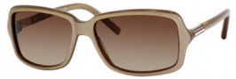 Tommy Hilfiger 1000/S Sunglasses Sunglasses - 084A Beige / Gold (D8 Brown Gradient Lens)
