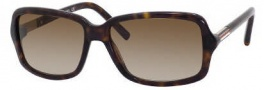 Tommy Hilfiger 1000/S Sunglasses Sunglasses - 0086 Dark Havana / Gold (CC Brown Gradient Lens)