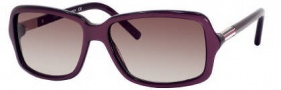 Tommy Hilfiger 1000/S Sunglasses Sunglasses - ON2M Purple Gold (K8 Brown Gradient Lens)