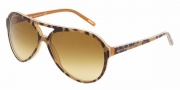 Dolce & Gabbana DG4099 Sunglasses Sunglasses - 17552L Animal Yellow / Brown Gradient