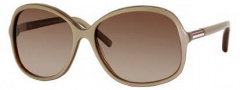 Tommy Hilfiger 1001/S Sunglasses Sunglasses - 084A Beige Gold (D8 Brown Gradient Lens)