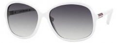 Tommy Hilfiger 1001/S Sunglasses Sunglasses - 0C29 White (JJ Gray Gradient Lens)