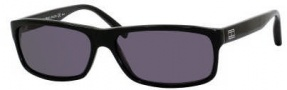 Tommy Hilfiger 1003/S Sunglasses Sunglasses - 0807 Black / Black (3H Smoke Polarized Lens)