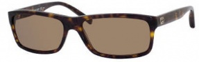 Tommy Hilfiger 1003/S Sunglasses Sunglasses - 0086 /Dark Havana / Gold (X7 Brown Lens)