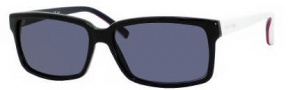 Tommy Hiilfiger 1004/S Sunglasses Sunglasses - 0UOF Blue Red White (9A Blue Lens)