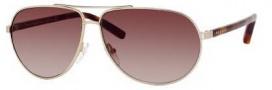 Tommy Hilfiger 1005/S Sunglasses Sunglasses - OUKQ Semi Matte Gold Havana (JD Brown Gradient Lens)