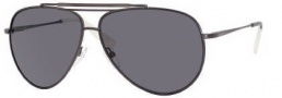 Tommy Hilfiger 1006/S Sunglasses Sunglasses - OR80 Semi Matte Dark Ruthenium (TD Smoke Polarized Lens)