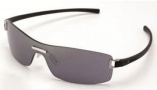 Tag Heuer Club 7509 Sunglasses Sunglasses - 101 Black Temples / Grey Shield