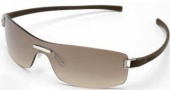 Tag Heuer Club 7509 Sunglasses Sunglasses - 202 Havana Temples/ Gradient Brown Shield