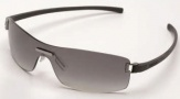 Tag Heuer Club 7509 Sunglasses Sunglasses - 108 Dark Grey Temple / Gradient Grey Shield