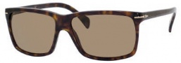 Tommy Hilfiger 1016/S Sunglasses Sunglasses - 0086 Dark Havana / Gold (X7 Brown Lens)