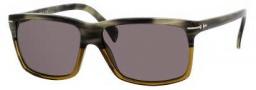 Tommy Hilfiger 1016/S Sunglasses Sunglasses - 0UUG Olive / Havana (1E Green Lens)